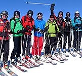 Group Ski-lessons for adult ADVANCED skiers 4 hours from 10:00-12:00 a.m., 1.00-3.00 p.m.