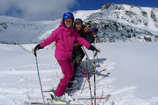 Group Ski-lessons for adult